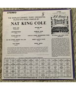101 STRINGS LP Play Hits Made Famous by Nat King Cole - Alshire S-5093 - $5.93