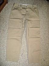 LIZ CLAIBORNE NEW YORK Tan 4 Pocket JACKIE Style Stretch Capris Dress Pa... - $15.47