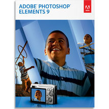 Adobe Photoshop Elements 9 PC / Mac (Pre Owned)  - $29.99