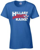 Hillary Kaine 2016 President White Red Print JUNIOR FIT Ladies Tee Shirt... - $5.30+