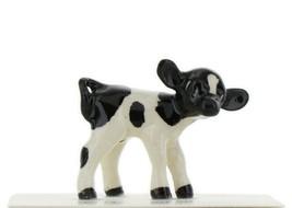 Hagen Renaker Miniature Cow Holstein Baby Calf Ceramic Figurine image 1