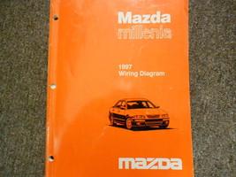 1997 Mazda Millenia Electrical Wiring Diagram Service Repair Shop Manual OEM 97 - $59.35