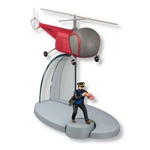 Tintin & Bordurian helicopter from The Calculus Affair