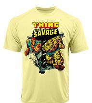 Thing doc savage dri fit graphic tshirt moisture wicking superhero comic spf tee 2 thumb200