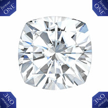 0.80CT C & C Forever One Cushion Cut Moissanite G-H-I Loose Stone 5.50MM - $267.29