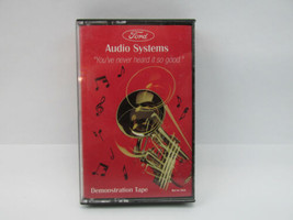 """Ford Audio Systems Demonstration Cassette Tape """"You've never heard it so... - $4.54"""