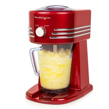 Nostalgia FBS400RETRORED Retro 40-Ounce Frozen Beverage Station - $92.26 CAD