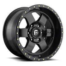 One 18x9 Fuel Podium D618 5x5/5x127 -12 Matte Black Wheels Rims - $245.00