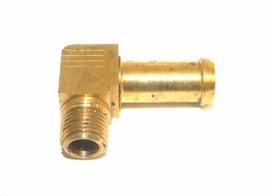 "Big A Service Line 3-83126 Brass 1/8"" Thread x 3/8"" Metal Barbed Tube Fi... - $12.75"
