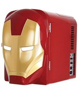Marvel  Ironman Thermo-Electric Mini Fridge Cooler, Red/Gold, 4 L - $78.84