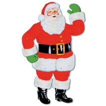 Beistle 1-Pack Jointed Santa, 29-Inch - $12.52
