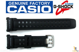 CASIO GW-9000A-1V G-Shock Original Black Rubber Watch BAND Strap GW-9000-1V - $33.97