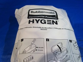 Rubbermaid Hygen Disposable Microfiber Mop Head, 50ct- FREE and FAST SHI... - $35.63