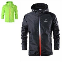 New Spring Summer Men Fashion Outerwear Windbreaker Men Thin Jackets Hoo... - $25.37