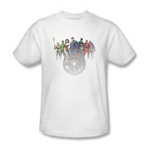 Justice League America T-shirt 100% cotton graphic tee superhero comics JLA369 image 2