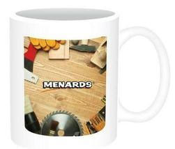 6 MENARDS RACE CAR COFFEE CUPS MUGS - WOOD TOOLS NEW - $11.88