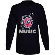 Monster Music Head Phones Long Sleeve T Shirt image 8