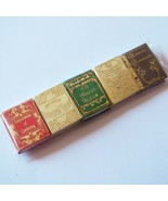 DOLLHOUSE Book Set (5) Gardening Reference NI144 A Novel Idea Miniature - $11.83