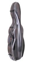 Tonareli Cello-shaped Checkered Carbon-look Finish Violin Case - 4/4 VNF... - $279.00