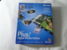 Microsoft Plus! Digital Media Edition For Windows XP (Retail, New, Sealed) - $19.75