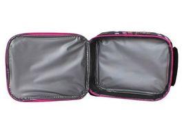 "NEW Disney Pixar Awesome 9.5"" Black Tsum Tsum Lunch Pail Box Bag Container NWT image 4"