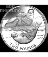 2017 CRABEATER SEAL - CuNi Copper Nickel Uncirculated Coin - British Antarctic - €10,67 EUR