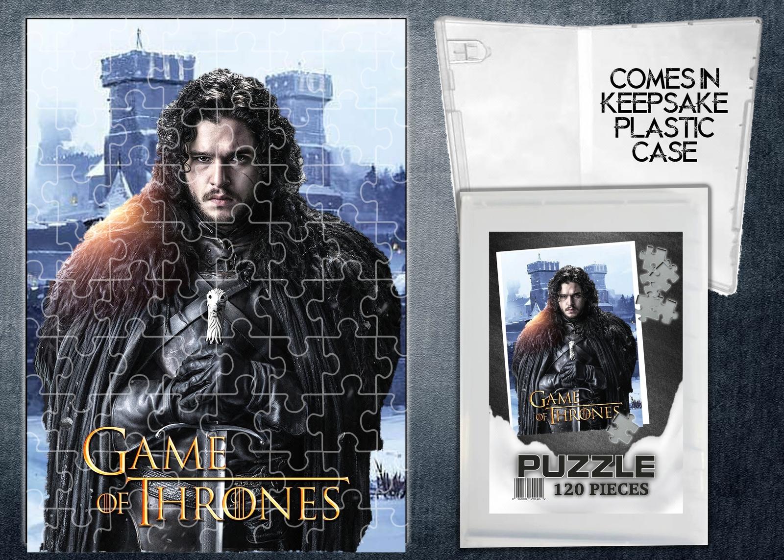 Game of Thrones Jon Snow TV Show 120 Piece Jigsaw Puzzle - $12.00