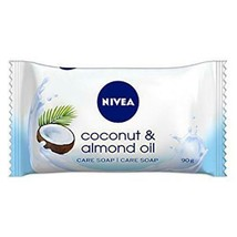 Nivea Bar Soap: Coconut & Almond Oil - 90 G Free Shipping - $5.89