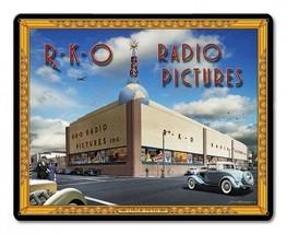 RKO Radio Pictures Studio by Larry Grossman Metal Sign - $29.95