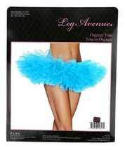 NEW LEG AVENUE WOMEN'S SEXY TUTU BALLET DANCE SKIRT A1705 ONE SIZE TURQUOISE image 2