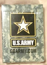 US Army Playing Cards.  New in box.  - $15.00