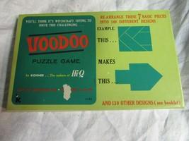 Vintage Voodoo Puzzle Game by Kohner COMPLETE includes design booklet #112 - $14.99
