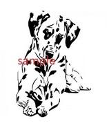 Dalmation Dog Led Down Cross Stitch Chart - $8.00