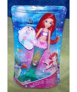 """Disney Princess Glitter 'n Glow Ariel 14"""" Doll New - $17.50"""