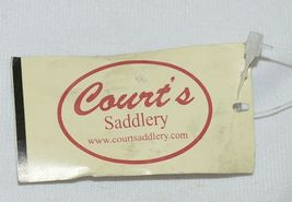 Courts Saddlery 1315901 Curb Chain Nylon Flat Chain Brown image 3