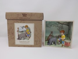 Winnie the Pooh Hundred Acre Wood Shadow Box - Fixing Eeyore's Tail - $28.49
