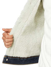 Levi's Strauss Men's Sherpa Lined Cotton Denim Jean Trucker Jacket 163650115 image 6