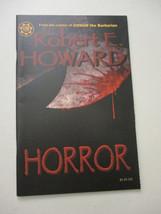 Horror Comic Book Robert E Howard Roy Thomas of Marvel Conan Signed 2000 - $25.60