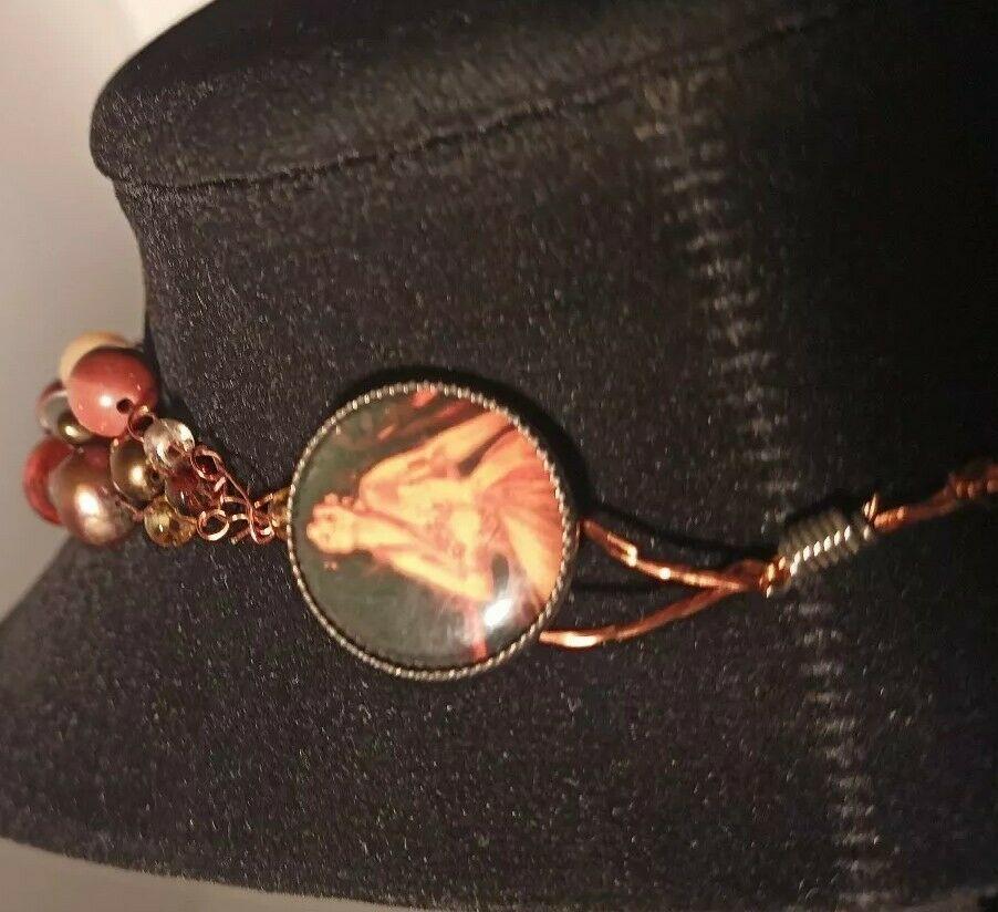 Unique 3 Strand Treasure Necklace w/ Pearls Stones Murano Glass and MUCH MORE! image 2