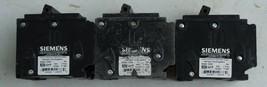 3 Used Siemens  Q250H 50 amp 2 pole Circuit Breakers - $24.65