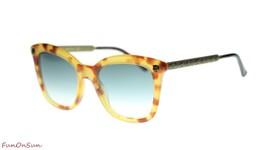 Gucci Women's Sunglasses GG0217S 003 Havana/Grey Gradient Lens Square 52mm - $232.80