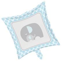 Little Peanut Boy Metallic Foil Balloon Blue Elephant Baby Shower - $4.17