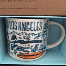 Starbucks Los Angeles Coffee Mug Been There Beach Film Surf New - $37.39