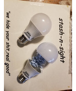 Fake light bulb secret stash can-Hidden compartment Diversion safe - €14,66 EUR