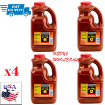 LOT of 4 Louisiana 1 Gallon Buffalo Wing Sauce -   FAST Shipping - $54.45
