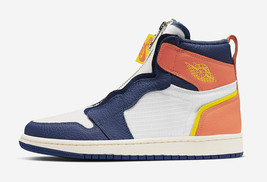 Air Jordan Retro 1 High Zip Blue Void Turf Orange AQ3742-100 Women Shoe ... - $178.20