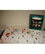 Hallmark 1993 Miniature Tiny Green Thumbs Set Of 6 Ornaments - $21.99