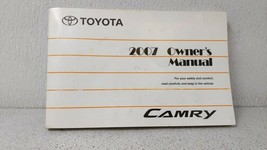 2007 Toyota Camry Owners Manual 92808 - $32.62