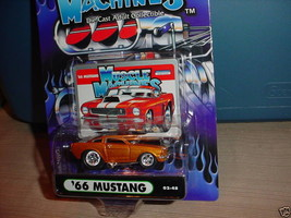 Muscle Machines '66 Mustang Copper 02-48 Mip Free Usa Shipping - $11.29