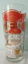 Bacardi 1950's Recipe Cobbler Cocktail Shaker Vintage MCM Red Gold White... - $35.00